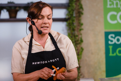 2016 Aldeburgh Food & Drink Festival: Kylee Newton The Modern Preserver of Newton & Pott. © bokeh photographic (Alistair Grant): Freelance Photographer Cambridge.
