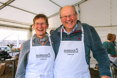 2017 Aldeburgh Food & Drink Festival: Marriage's Flour Masterclass Kitchen. © bokeh photographic (Alistair Grant): Freelance Photographer Cambridge.